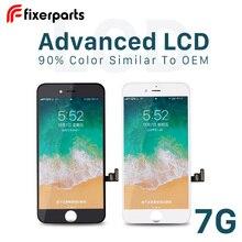 1 pçs avançado lcd para iphone 7 7p display touch screen substituição digitador assembléia completa para iphone 7 lcd com kit de ferramentas