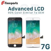 1pcs Display LCD Avanzato Per iphone 7 7p Display Touch Screen Digitizer Sostituzione Assemblea Completa per iphone 7 lcd Con Kit di Strumenti di