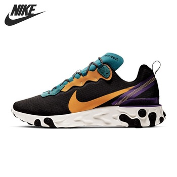Original New Arrival NIKE REACT ELEMENT 55 PRM SP20 Men's Running Shoes Sneakers Men's Fashion