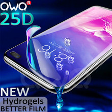 25D Screen Protector For Samsung Galaxy S10 S9 S8 Plus Note 10 pro 9 8 Hydrogel For Samsung A50 S10e + A7 2018 Full Curved Film(China)
