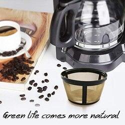 Wielokrotnego użytku 4 Cup Basket dla pana kawy wymiana filtr do kawy dla pana kawy stały filtr do kawy dla pana ekspres do kawy i na