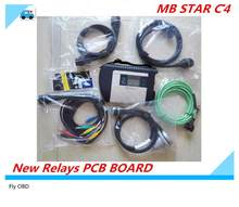 2021,03 hohe Qualität MB Star C4 interface SD Verbinden Stern Diagnose DAS System Kompakte 4 Multiplexer Für Bens Diag Werkzeug