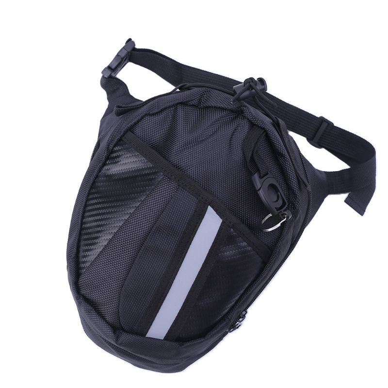 Men Waist Bag Outdoor Bag Leg Drop Motorcycle Waist Pack Unisex Fanny Thigh Belt Bike Waist Bag