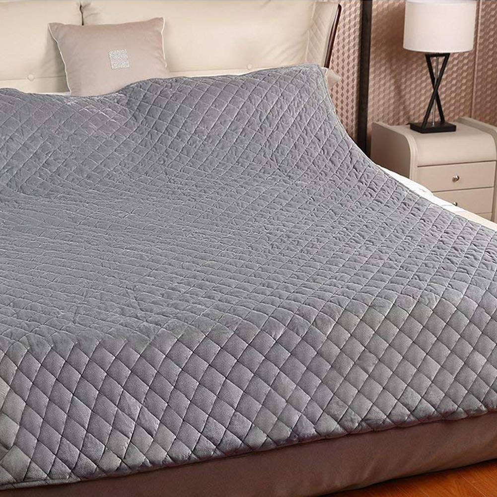Gewichteten Decke Schwerkraft Decken Dekompression Schlaf Hilfe Druck Gewichteten Quilt Kristall Super Weiche Verdeckte Zipper Bett Sack