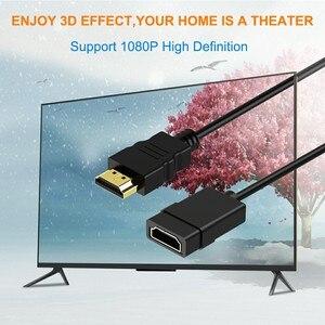 Image 3 - محول HDMI 1080P ذكر إلى أنثى ، تمديد كابل HDMI ، موصل 0.5 متر 1 متر لأجهزة الكمبيوتر المحمول HDTV ، PS4/3