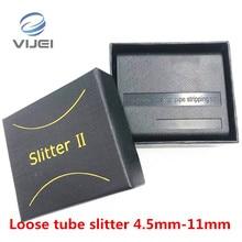หลวมTube Slitter 4.5มม. 11มม.ริบบิ้นสายStripperยาวกลางท่อเครื่องมือTube Slitterเครื่องตัดสายเคเบิล