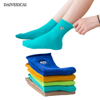 3Pairs/lot=6Pieces Autumn Winter Socks Fashion Womens Cotton Striped Two-Bar Casual Female Cotton Socks