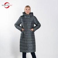 MODERN NEW SAGA 2020 Women Winter Coat Cotton Padded Coat Warm Long Jacket Women Parka Coats female Overcoat Thick Woman Coat