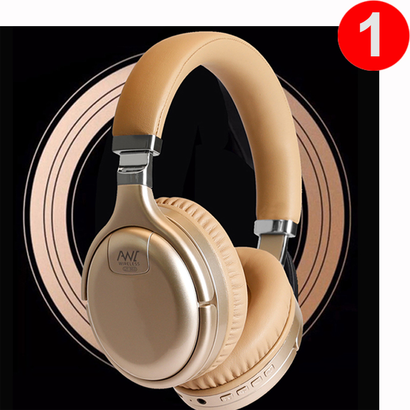 ANC Bluetooth Headphones Wired & Wireless Bluetooth Headset Active Noise Cancelling Headphone Deep Bass With MIC for PC Phone 1