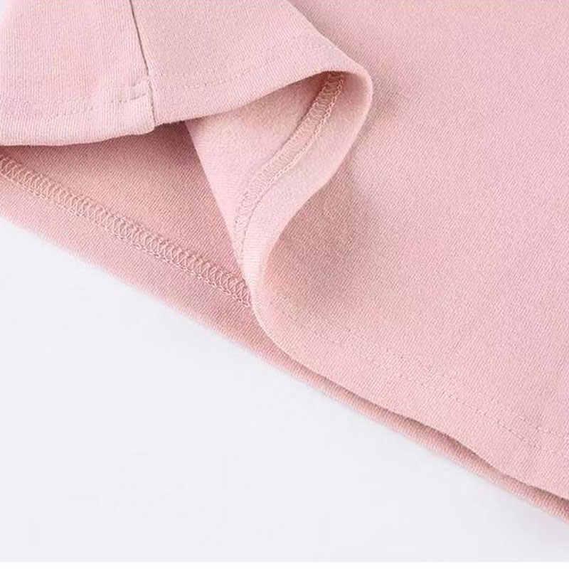 2020 SpirngหญิงTเสื้อแขนยาวเสื้อเด็กการ์ตูนเด็กเสื้อผ้าฝ้าย2-8yearsเด็กTeesเด็กวัยหัดเดินเสื้อกล้าม
