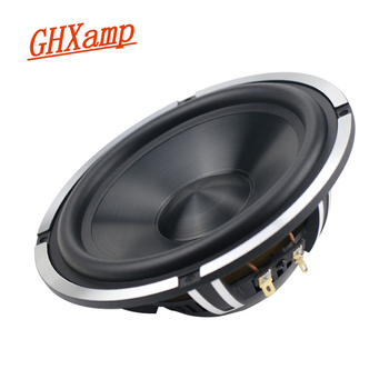GHXAMP 6.5 Inch Car Speaker Mid-Bass woofer Aluminum Ceramic Neodymium Car CD Horn Cast Aluminum Basin Powerful 4OHM 25-50W 48Hz