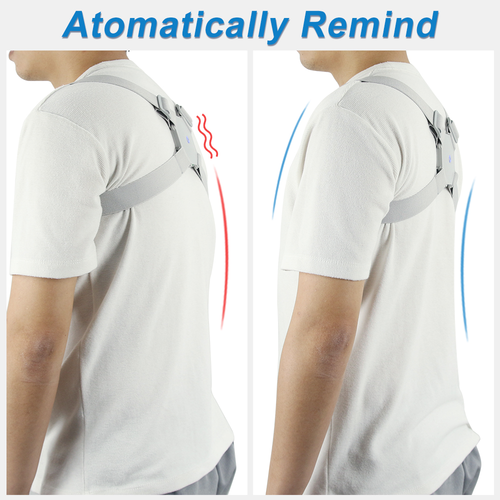 Breathable Posture Corrector Belt to Get Confident Posture Easily Helps to Align Shoulder Spine and Upper Back for Men and Women 1