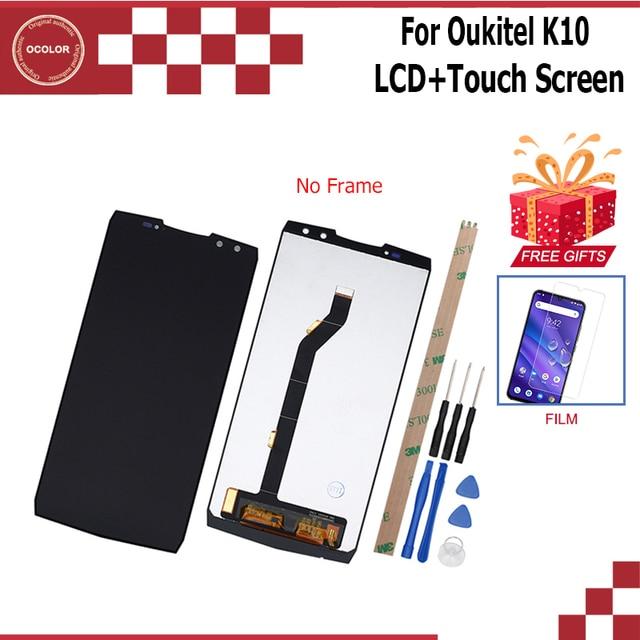 Ocolor Per Oukitel K10 Display LCD e Touch Screen da 6.0 pollici Accessori Per Cellulari E Smartphone Per Oukitel K10 Con STRUMENTI + Film