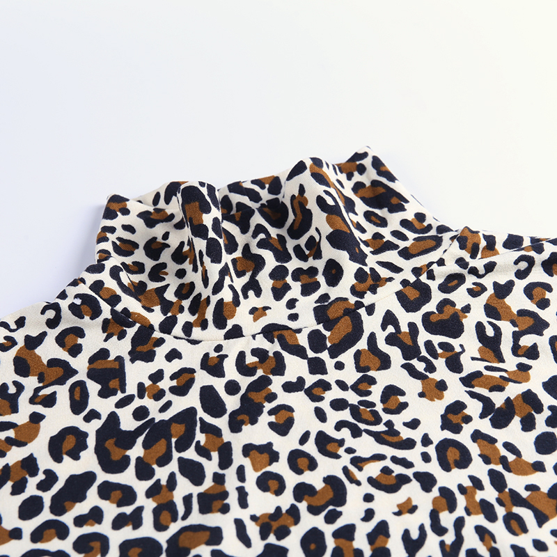 H3d55e23659ac44658ed7d56384b80224J - WannaThis Autumn Winter Leopard Print Bodysuit for Women Sexy Bodycon Skinny Elastic Turtleneck Long Sleeve Gloves Sexy jumpsuit