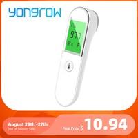 Yongrow-termómetro Digital infrarrojo sin contacto, termómetro médico para bebés, herramienta de temperatura para fiebre IR