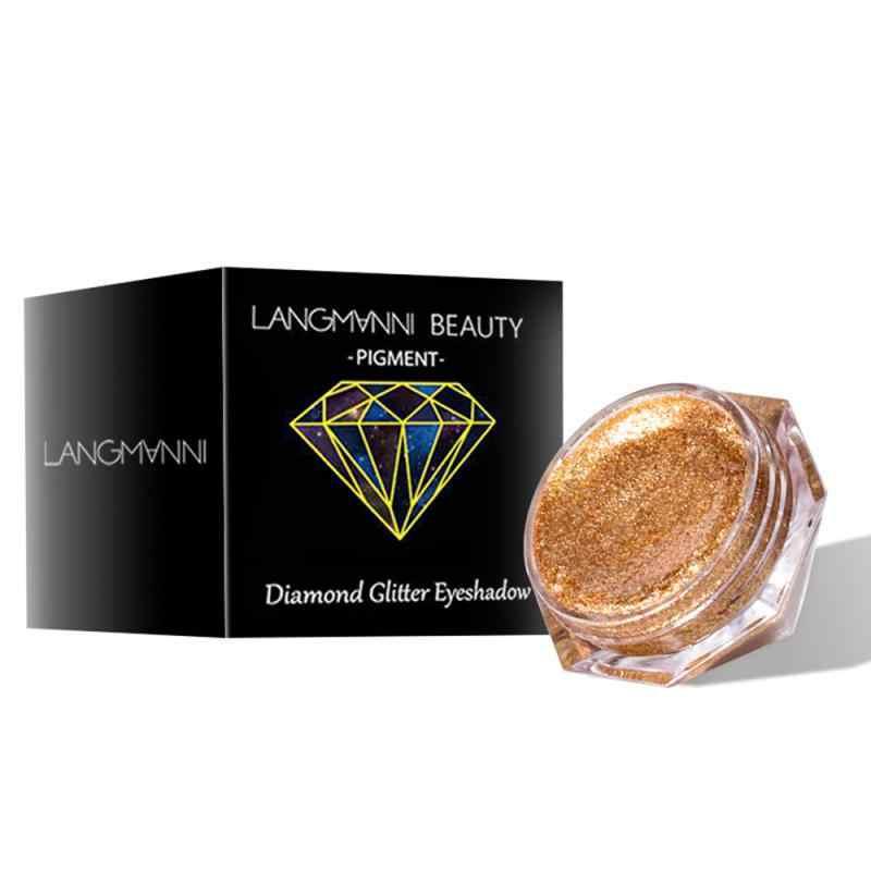 LANGMANNI 6-Color Perla Liquido Ombretto Lucido Diamante Ombretto Liquido Ombretto TSLM2