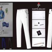 Q Новые мужские штаны для гольфа, осенние и зимние спортивные мужские штаны для гольфа, повседневные штаны
