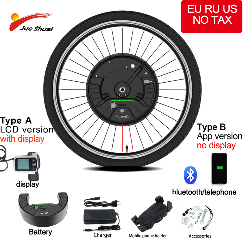 "iMortor 3.0 36V Electric Bike Conversion Kit 500W 24"" 26 ""27.5"" 700C 29"" Motor Wheel Electric Conversion Kit Mtb City Road Bike"