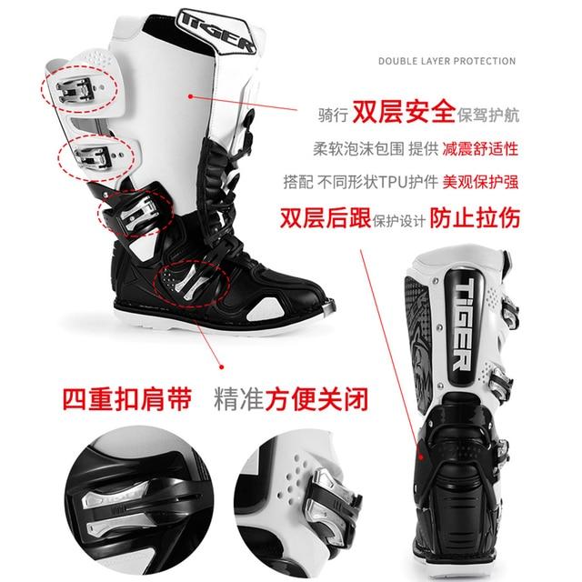 Мотоциклетные ботинки 39-46 4
