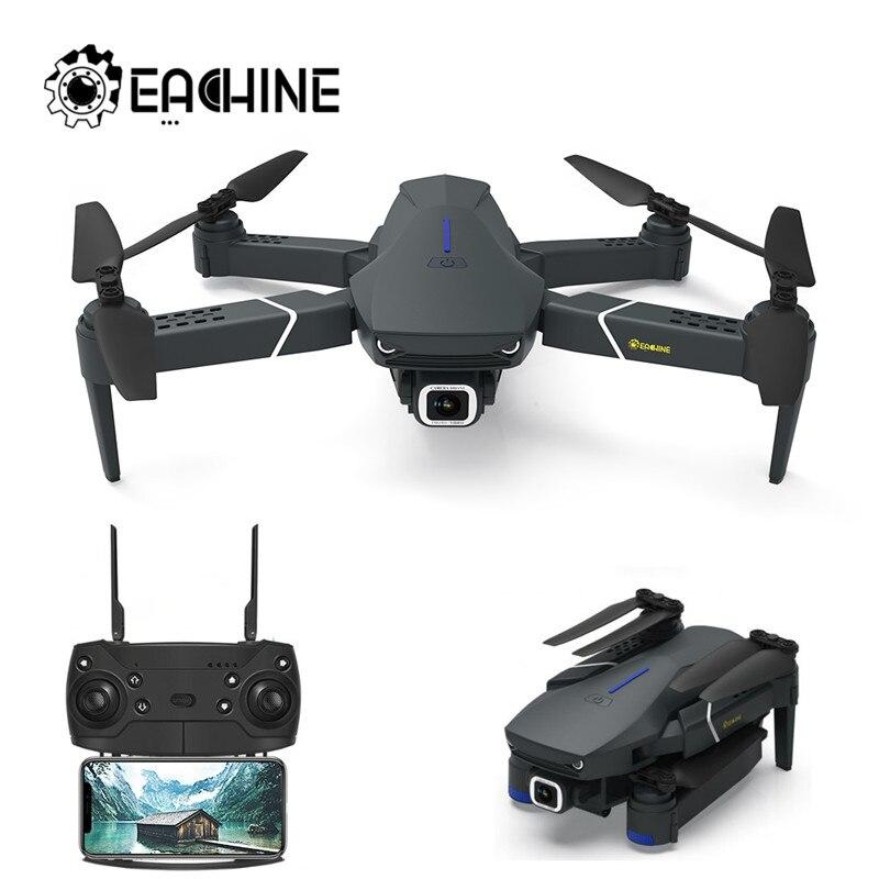 Eachine e520/e520s wifi fpv com 4 k/1080 p hd câmera grande angular modo de espera alta dobrável rc zangão quadcopter rtf