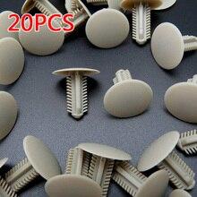 20 Roof Headliner Clip Trim Panel Retainer Premium Nylon Fastener For Toyota Replace 63399-26050 For Hiace