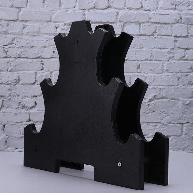 Dumbbell Bracket Practical Dumbbell Dispaly Rack Fitness Equipment 5