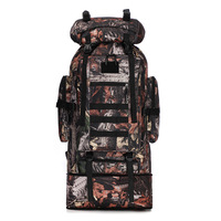 100L Hiking backpacks New Tactical bag Large capacity Military backpack Waterproof Travel backpack Camouflage tactical backpack