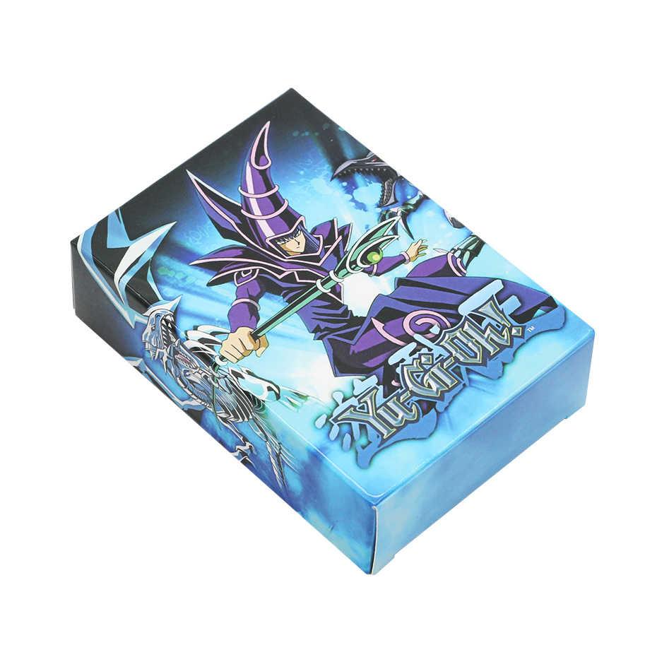 Tarjetas Yugioh dios egipcio coleccionable juguetes para niño yu-gi-oh figuras de caja de Metal Japón Yu gi oh legendarias Cartas de juego de mesa