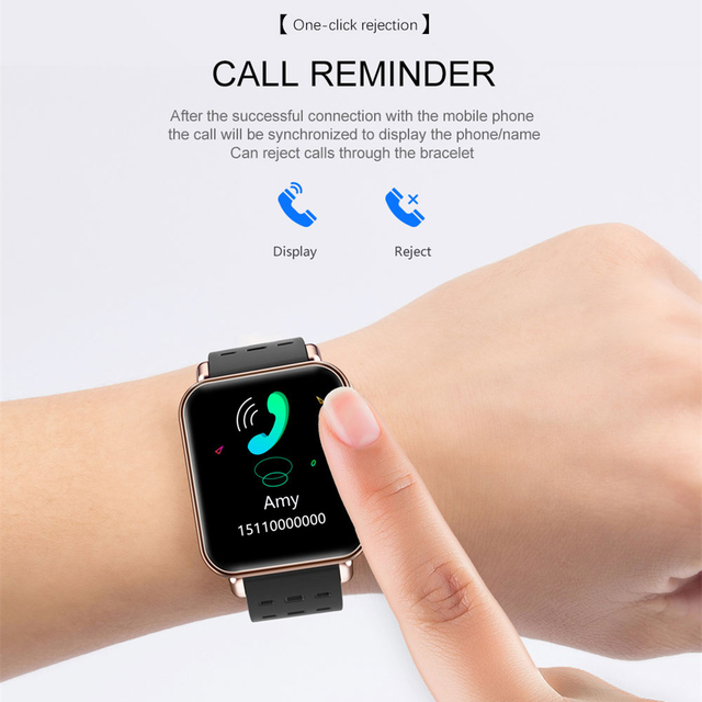 Y6 pro Smart Watch Sport Waterproof Smart Band Heart Rate Monitor Blood Pressure Fitness Tracker Smart Bracelet For Android IOS