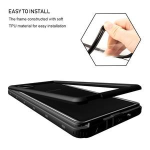 Image 4 - SHELLBOX Custodia Impermeabile Per Samsung Galaxy Note10 Più S10 Antiurto Caso Della Copertura Trasparente Per Samsung Note 10 Pro Cassa Del Telefono coque