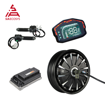 QS Motor 12inch 2000W 260 V1.12 72v 65kph BLDC motor in wheel hub motor with EM100SP controller motor kits for electric scooter high end 105l 500w rubber dual wheel hub in motor for electric scooter skateboard outdoor fun sports