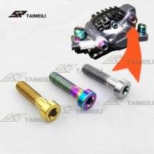 TAIMEILI  Titanium alloy screw M6x24mm bicycle brake SHIMANO XT M8000 / 9000/9020 body screw 2PCS