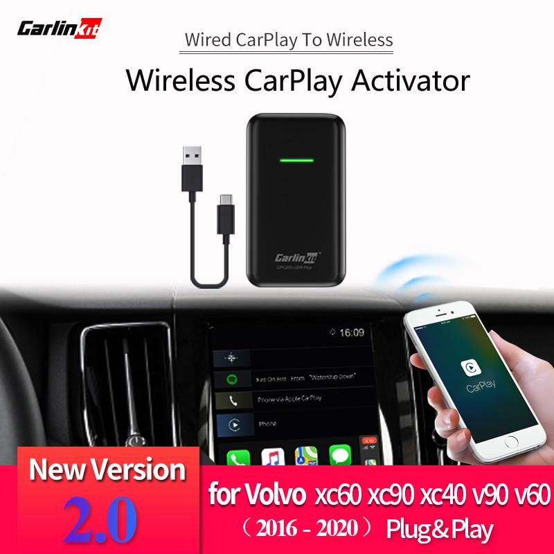 2020 CarPlay Wireless Activator For Volvo XC90 XC60 XC40 S90 V90 V60 2016-2020 Convert Wired CarPlay To Wireless CarPlay