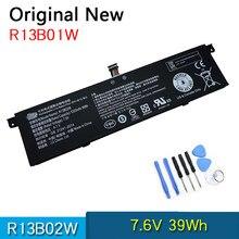 Novo original r13b02w r13b01w bateria do portátil para xiaomi mi ar 13.3