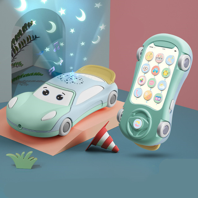 Baby Mobile Phone for Toddlers 0 12 Months Kids Learning Toys Educational Montessori Musical Toys for Kids 2 to 4 Years Old Girl 1