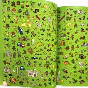 Image 4 - 2000 ملصقات الإنجليزية كتاب أنشطة للأطفال/الحيوان/الأميرة/مزرعة/الغريبة/هالوين ملصقات للبنين والبنات لعبة الهدايا