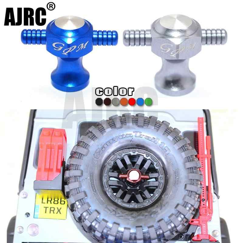 TRAXXAS TRX-4 Defender AXIAL SCX10 II อลูมิเนียมอะไหล่ล้อยางล็อค NUT เครื่องมือสำหรับ 1/10 RC Crawler รถอุปกรณ์เสริม