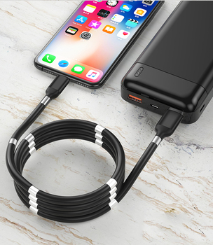 Magnetic Rollup Charger Cord
