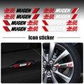 4 шт. стайлинга автомобилей двери автомобиля наклейки на ручку дизайн виниловые наклейки для Honda Mugen INSPIRE XR-V CR-V UR-V CR-Z Fit пилот TypeR