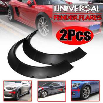 2pcs 8480 Universal Car Fender Flares Mudguards Body Kits Extra Wheel Arches For BMW F10 F11 F32 F33 F36 F30 F80 M3 F82 G30 G31 image