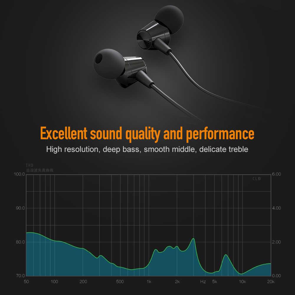 Jellico X4A Бас Звук наушники в ухо спортивные наушники с микрофоном для iPhone samsung Xiaomi гарнитура fone de ouvido auriculares MP3
