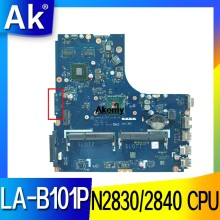 ZIWB0/B1/E0 LA-B101P para Lenovo B50-30 N50-30 placa base N2830/N2840 CPU LA-B101P Rev: 1A placa base de prueba(China)