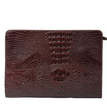 New handbags, trendy clutches, crocodile pattern envelopes, envelopes, men and women Day Clutches  Solid  Fashion  bag  PU local focal handmade embroidery beads black pu clutches