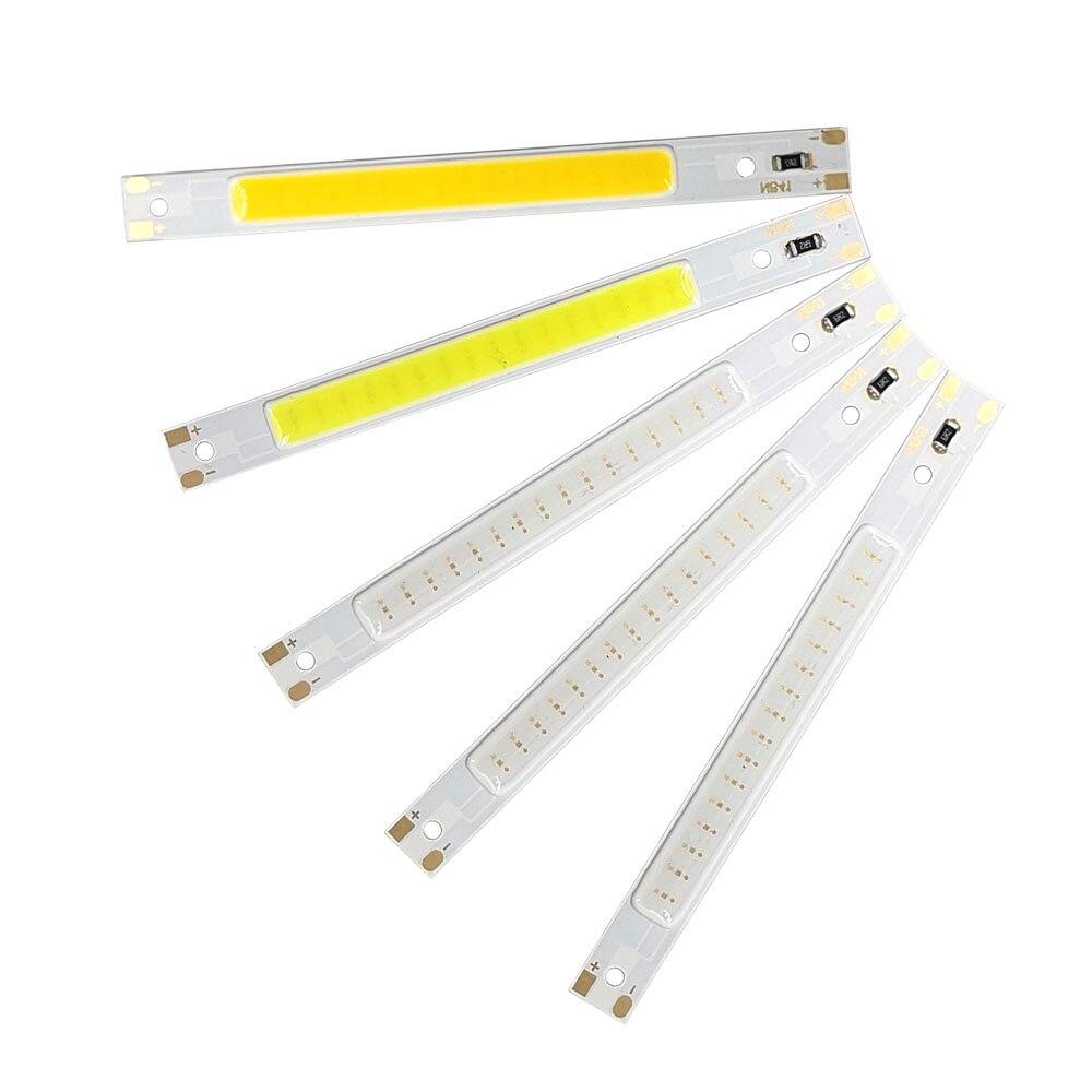80x7,5 мм Питание от USB 5 В COB светодиодные ленты бар светильник DC5V 3W светодиодный Теплый Холодный белый красный синий зеленый цвет лампы светод...