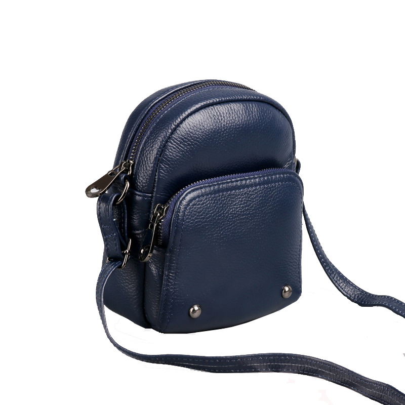 Lady Handbag Small-Shoulder-Bag Crossbody-Bag Genuine-Leather Women Flap Female