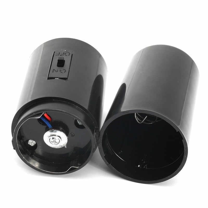 14X4X4cm portant 2kg noir miroir boule moteur Spin à piles tournant moteurs pour Disco fête mariage