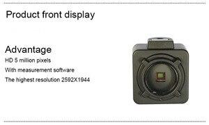 Image 5 - 5MP USB תעשייתי מצלמה משקפת מצלמה מיקרוסקופ אלקטרונים עינית אלקטרונים מיקרוסקופ