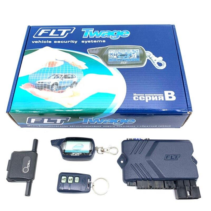 Car-Alarm-System Remote-Control-Key Engine-Start Security DOXINGYE Car-Anti-Theft B9