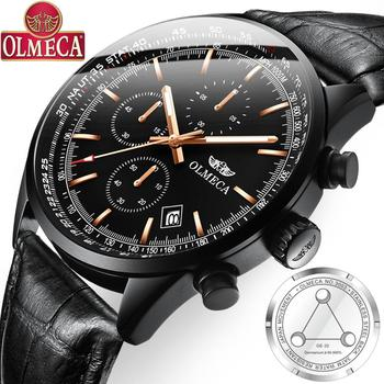 OLMECA Men's Watch Top Brand Luxury Sports Military Waterproof Watches Wristwatches Health Germanium Stone For Men & Women - sale item Men's Watches