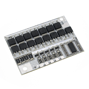 Image 4 - 18v 21v 100A 5s bmsリチウムイオンlmo LiFePO4 三リチウム電池保護回路ボードリチウムポリマーバランス充電ボードモジュール